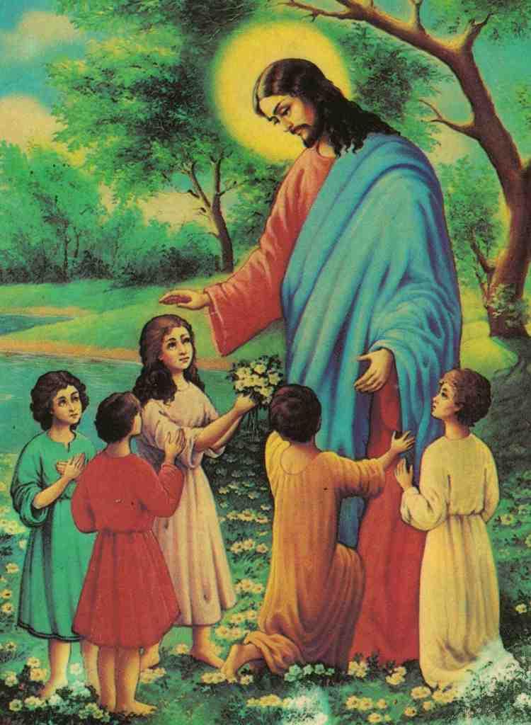 Картинки детей и бога