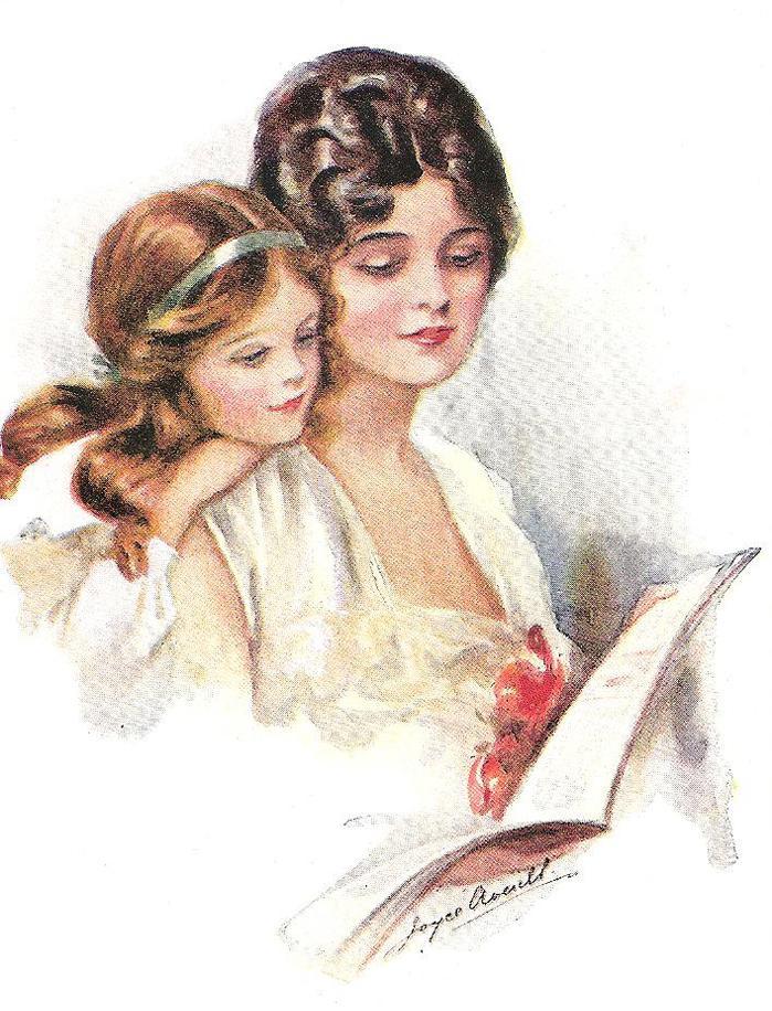 Мамочка с дочкой открытки, яндекса