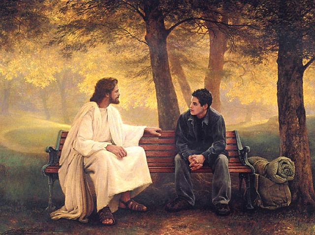 Разговор Бога с человеком - Размышления - Для души - Статьи - Школа радости
