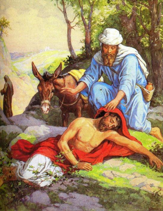 евангельская притча о добром самарянине картинки решили набросать