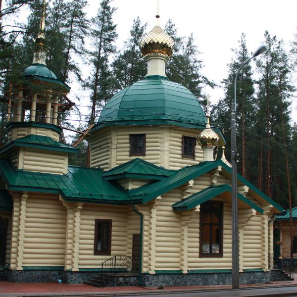 Храм на Левашовском мемориальном кладбище