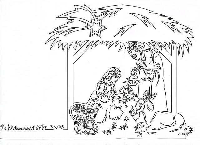 Рождественские вытынанки... - вытынанки рождественские ...