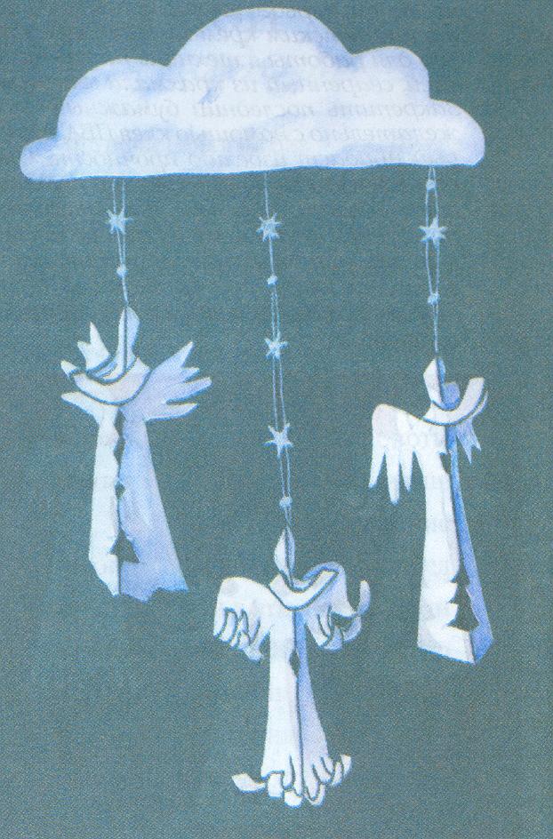 Рождественские ангелочки сделанные