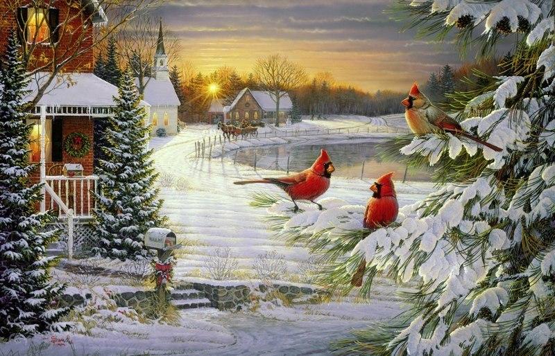соорудить красивые зимние открытки картинки фото этой статье